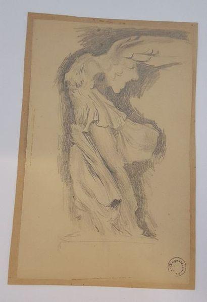 GARGUET Auguste (Paris 1862-1927)  La victoire...