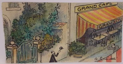 GRISCELLI Angelo(1893-1970)  La politesse...