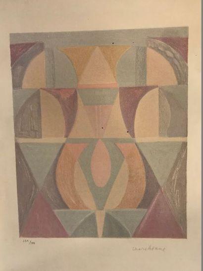 CHARCHOUNE Serge (1888-1975)  Composition...