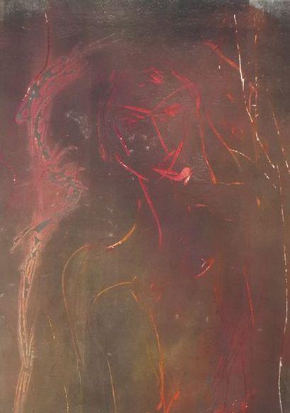 CHENU Didier (né en 1956)  Sujets divers  Lot de 6 techniques mixtes sur papier,...