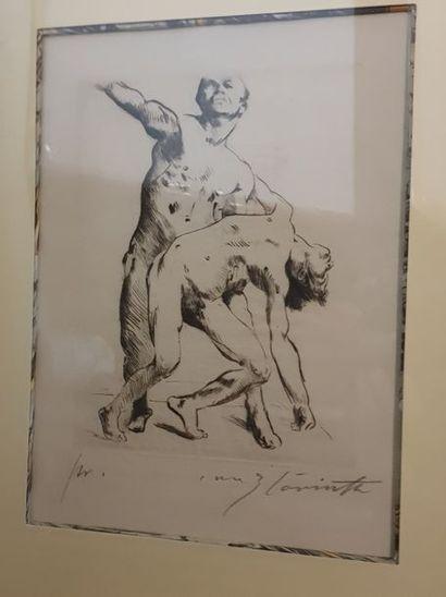 CORINTH Lovis, 1858-1925, Odysseus et les...