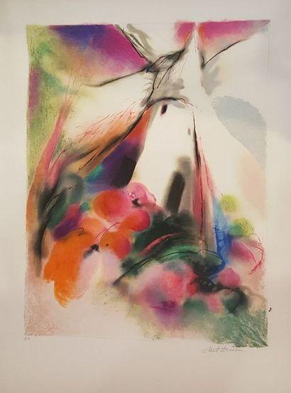 DEMAN Albert (1929-1996)  Composition aux...