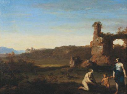 VAN POELENBURGH Cornelis (attribué à)  (Utrecht,...