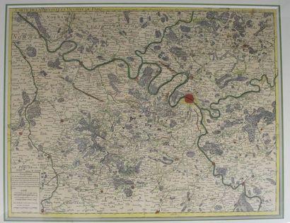 Carte de la Prévosté et Vicomté de Paris....