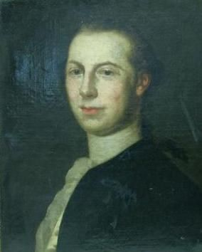 ECOLE ALLEMANDE du XVIIIème siècle  portrait...