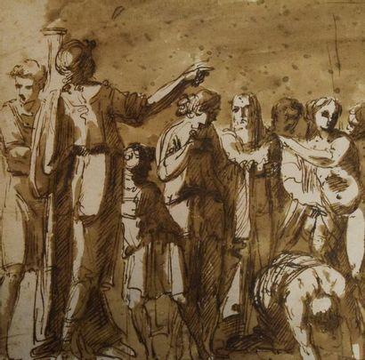 GIANI Felice (attribué à)   Gênes...
