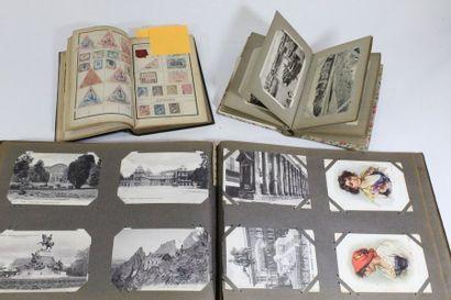Deux volumes de CPA dont Corse et un petit...