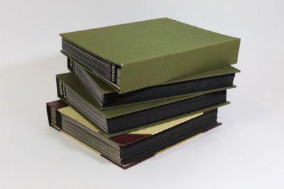 4 volumes France et étranger. Timbres de...