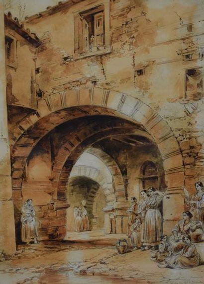 VIANELLI Achille  Porto Maurizio 1803 - Bénévent...