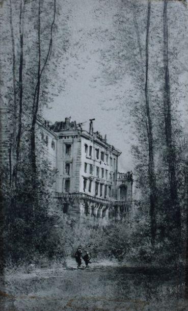 ECOLE FRANCAISE Fin du XIXe siècle    1 -...