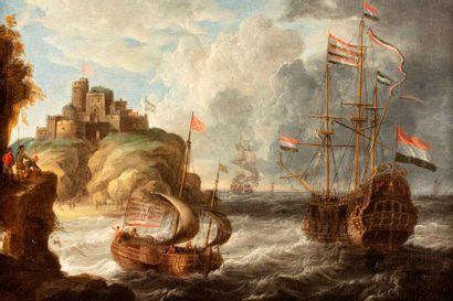 VELDE Pieter van de  Anvers 1634 - vers 1714...