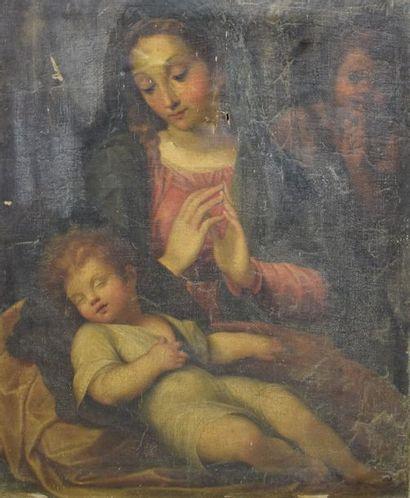 ECOLE ITALIENNE du XVIIe siècle    Le sommeil...