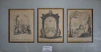 CALLOT Jacques (1592-1635) d'ap. La passion...
