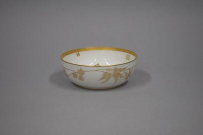 Manufacture de Sèvres  Bol en porcelaine...
