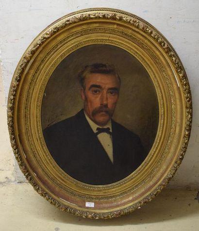 HERBO Léon (1850-1907) Portraits formant...