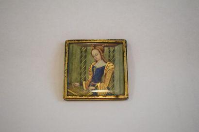 Suzanne GAUTHIER (1948) Miniature en argent...