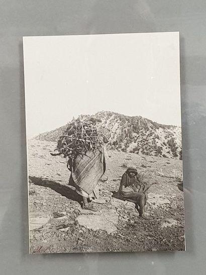GRAVE Charles (1882-1951).  Maroc.  Un tirage...