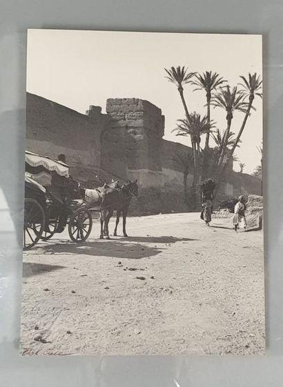 GRAVE Charles (1882-1951).  Paysages du Maroc....
