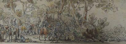 SWEBACH DESFONTAINE (Attribué à)  1769 -...