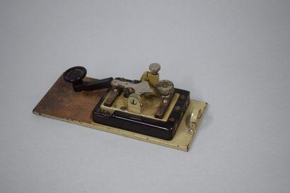 Manipulateur morse allemand WW2, D.R.P. Junker...