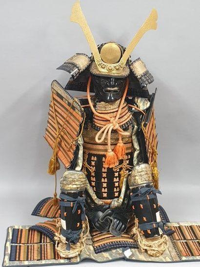 Armure de Samouraï décorative du XXème siècle....