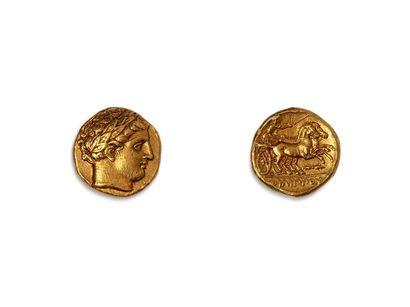 PHILIPPE II (359.336 av. J. C.) :  Statère...