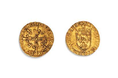FRANCOIS 1ER (1515.1547)  Ecu d'or au soleil...