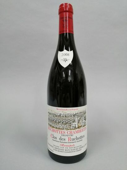 1 bouteille RUCHOTTES-CHAMBERTIN,