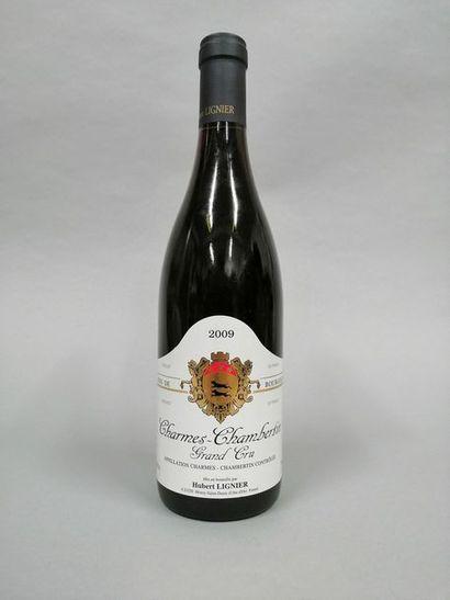 1 bouteille CHARMES-CHAMBERTIN, Hubert Lignier...