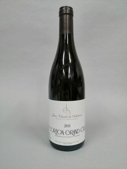 1 bouteille CORTON Jean-Charles de Salinières...