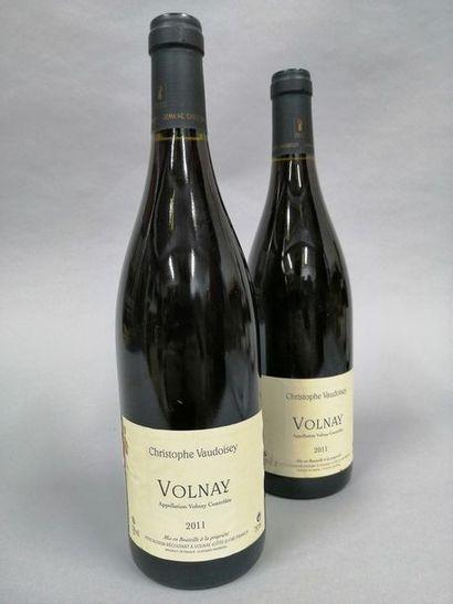 2 bouteilles VOLNAY Christophe Vaudoisey...