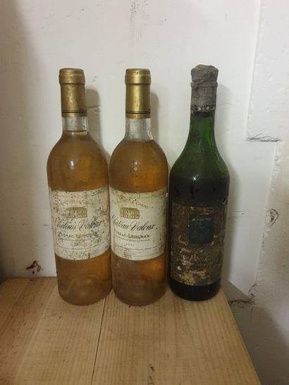 Ensemble de 6 bouteilles :1 bouteille CH....