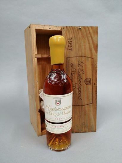 1 bouteille L'EXTRAVAGANT DE DOISY-DAÊNE,...