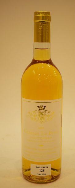 6 bouteilles CH. LE BESIN, Sauternes 200...