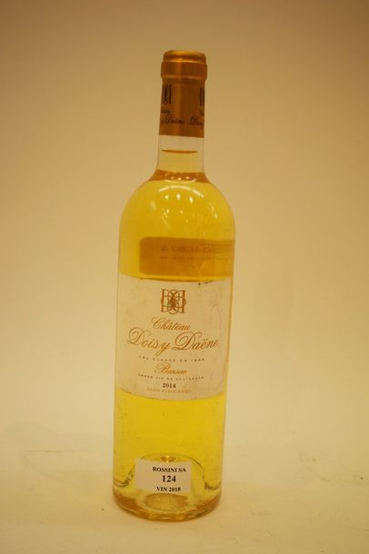 1 bouteille CH. DOISY-DAËNE, 2° cru Barsac...