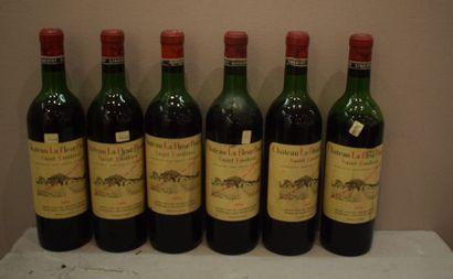 6 bouteilles CH. LA FLEUR POURRET, St-Emilion...