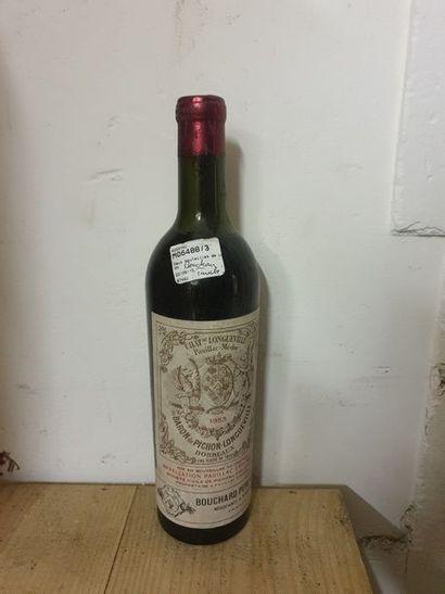 1 bouteille CH. PICHON LONGUEVILLE-BARON,...
