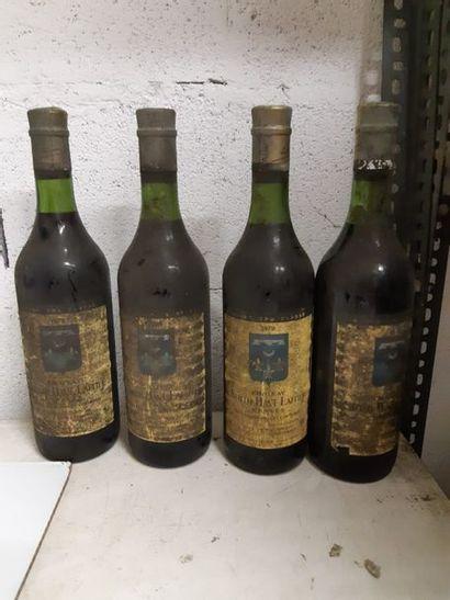 4 bouteilles CH. SMITH-HAUT-LAFITTE, Pessac-Léognan...