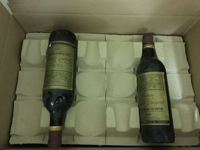 8 bouteilles CH. GRAND GUEYROT, St-Emilion...