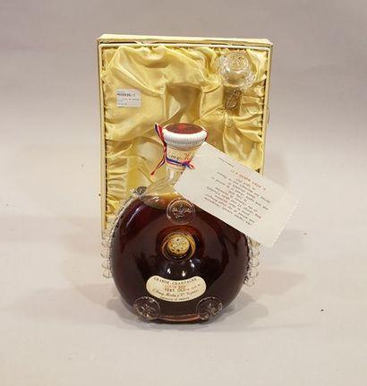 Un flacon de Grande champagne Louis XIII...