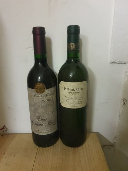Ensemble de 5 bouteilles :1 bouteille RIOJA...