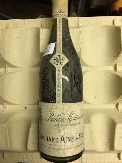 1 bouteille BÂTARD-MONTRACHET,  Bouchard...