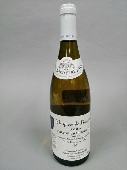 1 bouteille CORTON CHARLEMAGNE, Bouchard...