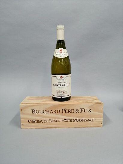 1 bouteille MONTRACHET, Bouchard P&F 2010...