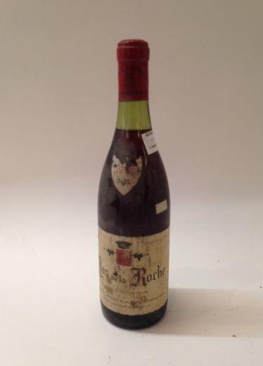 1 bouteille, CLOS DE LA ROCHE, A. Rousseau...