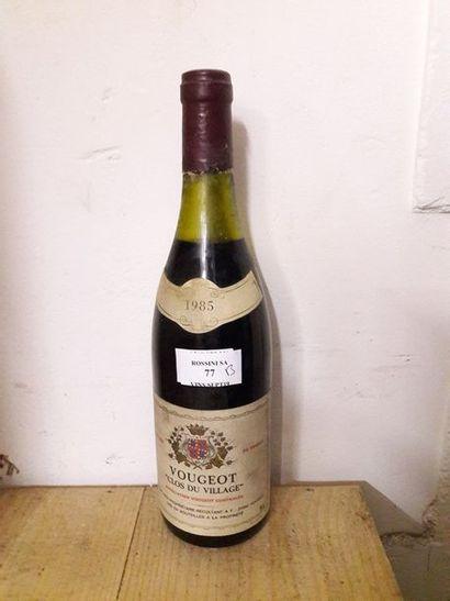 1 bouteille VOUGEOT
