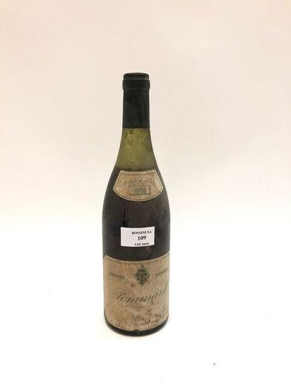 1 bouteille POMMARD Héritiers Forest...