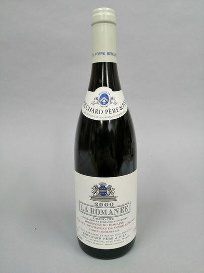 1 bouteille LA ROMANEE, Bouchard P&F 2000...