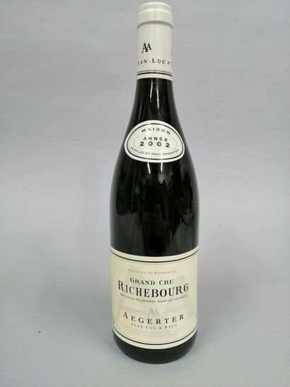 1 bouteille RICHEBOURG, Aagerter 2002