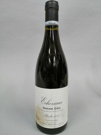 1 bouteille ECHEZEAUX, Charles Antonin 2005...